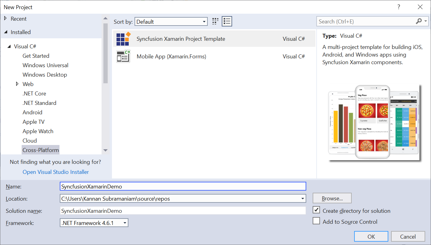 Xamarin Extensions - Syncfusion - Visual Studio Marketplace